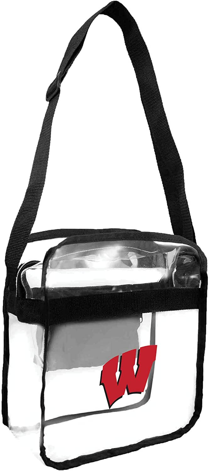 Littlearth Stadium Friendly Clear Carryall with Crossbody Te Very popular Bag New product! New type