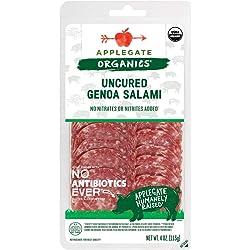 Applegate, Organic Uncured Genoa Salami, 4oz