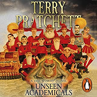 Unseen Academicals                   By:                                                                                                                                 Terry Pratchett                               Narrated by:                                                                                                                                 Stephen Briggs                      Length: 12 hrs and 16 mins     1,636 ratings     Overall 4.7