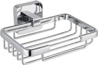 Wall Mounted Soap Dish Holder Bathroom Shower Soap Basket in Chrome