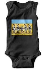 Efbj Infant Baby Girls Rompers Sleeveless Cotton Onesie Heart Print Jumpsuit Autumn Pajamas Bodysuit