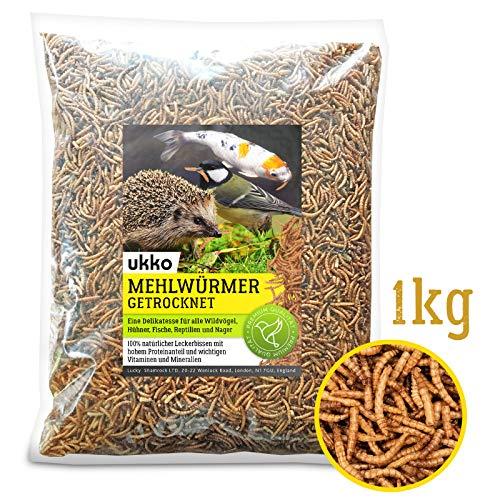 Getrocknete Mehlwürmer, 1kg