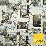 Harry Potter 5160 Stoff mit magischem Postkarten-Motiv, 100