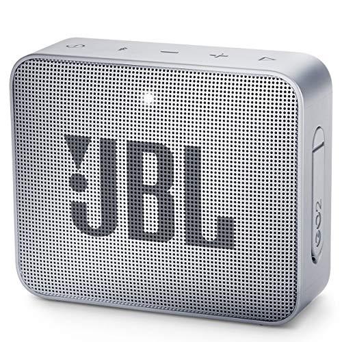JBL Go 2 Portable Bluetooth Waterproof Speaker, Grey