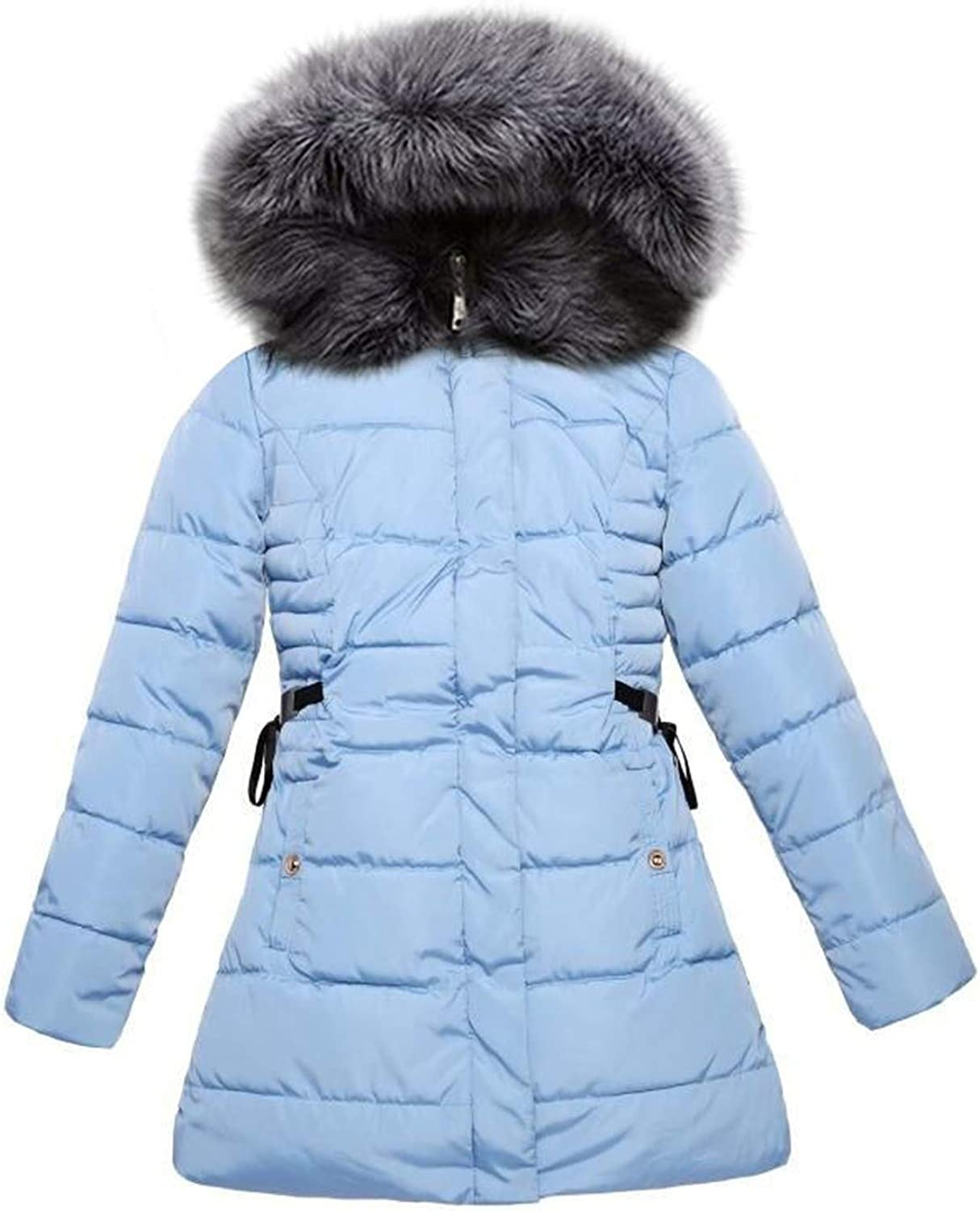 Winter Jacket Winter Coat Women Real Fox Fur Collar Warm Woman Parka Outerwear Down Jacket