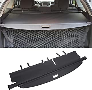 Vesul Black Tonneau Cover Retractable Rear Trunk Cargo Luggage Security Shade Cover Shield Fits on Kia Sorento 2016 2017 2...