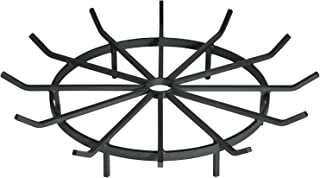 SteelFreak Wagon Wheel Firewood Grate for Fire Pit - Made in The USA (28 Inch)