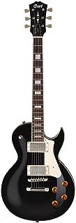 Cort CR200 de la guitarra eléctrica Negro Singlecut