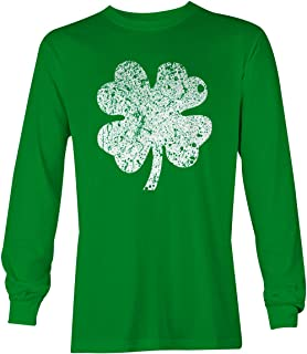 Four Leaf Clover - St Patrick's Day Unisex Long Sleeve Shirt