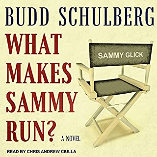 What Makes Sammy Run? audiobook cover art