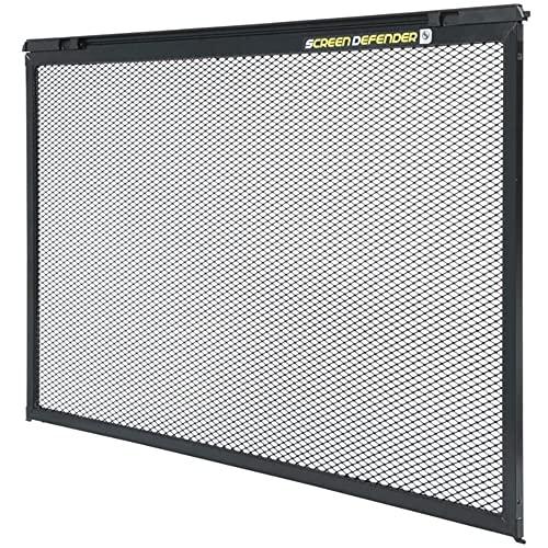 Lippert Components 859792 Screen Defender RV Entry Door Aluminum Screen Protector, 26-inch