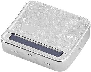 New Arrival Metal Automatic Cigarette Tobacco Roller Roll Rolling Machine Box Case Tin & Storage Box