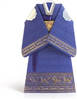 Thank you Greeting Cards Card Korean Traditional Hanbok (Ceremonial Robe)
