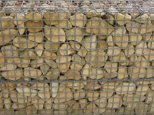 6057 - Vollmer H0 - Mauerplatte Gabionen