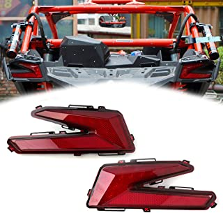 Whip Light Can-Am Maverick X3 Tail Light Power Harness Quick Harness For License Plate or Rear Chase Light 2017 2018