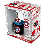 ABYstyle Studio Z885450 Marvel Coffret Cadeau Captain America Multicolore