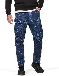 G-Star RAW(ジースターロゥ) Rovic カーゴパンツ メンズ ロングパンツ ストレート テーパード迷彩