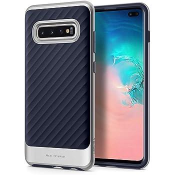 Spigen Neo Hybrid Designed for Samsung Galaxy S10 Plus Case (2019) - Arctic Silver