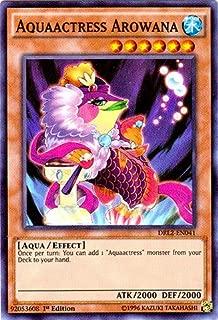Yu-Gi-Oh!! - Aquaactress Arowana (DRL2-EN041) - Dragons of Legend 2 - 1st Edition - Super Rare