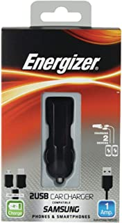 Energizer DC2UCSM2 Car Charger for Samsung Devices