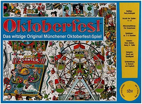 sbv Verlag Georg Saller Oktoberfest - Das witzige Original Münchener Oktoberfest-Spiel