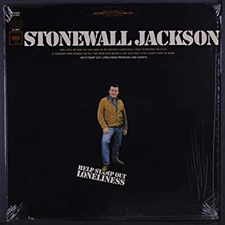 STONEWALL JACKSON - help stamp out loneliness COLUMBIA 9474 (LP vinyl record)