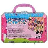 Gloss! - Kit de Maquillaje para la Niña - Parche de Uñas - Colección de Uñas Fantasía, Color Rosa