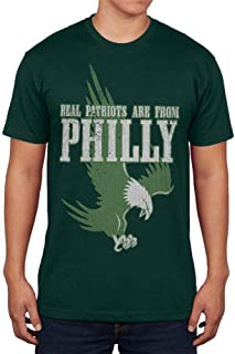 Real Patriots are from Philly Vintage Distressed Mens T Shirt