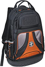 Klein Tools 55421BP-14 Tool Bag Backpack, Heavy Duty Tradesman Pro Tool Organizer / Tool..
