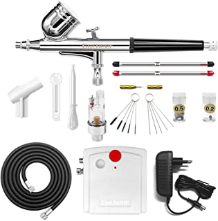 Gocheer mini kit aerografo con compresor profesional