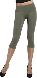 SENSI' Leggings Capri Donna Microfibra Traspirante Senza Cuciture Seamless Made in Italy