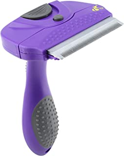 Hertzko Dog Brush & Cat Brush for Small, Medium & Large Dogs and Cats, with Short to Long Hair. Pet Comb Dramatically Reduces Shedding