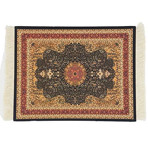 DESIGNMANUFAKTUR Teppich Mauspad Perser Mousepad orientalischer Teppich als Mousepad Mausunterlage - lustiges Büro Zubehör - Motiv 3