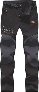 comprar comparacion BenBoy Pantalones de Nieve Montaña Hombre Impermeables Invierno Calentar Pantalones Trekking Escalada Senderismo Esquiar S...