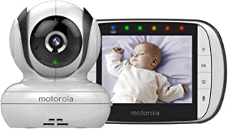 "Motorola MBP36SC Video Baby Monitor with 3.5"" Handheld Parent unit and Remote Pan & Tilt"