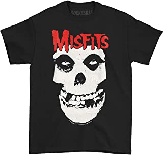 Misfits - Red Logo Skull T-Shirt