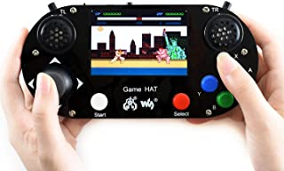 Waveshare Game HAT for Raspberry Pi A+/B+/2B/3B/3B+ 3.5inch IPS Screen 480x320 Resolution 60 Frame Experience Make Your Own Game Console
