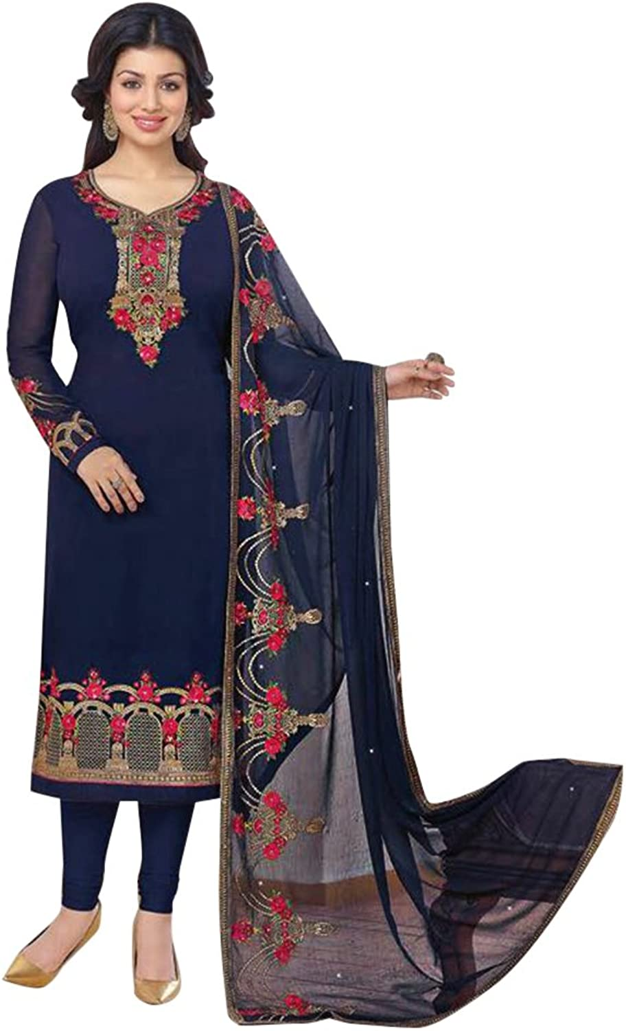 Bollywood Straight Dresses for women Salwar Kameez Ceremony Wedding 907