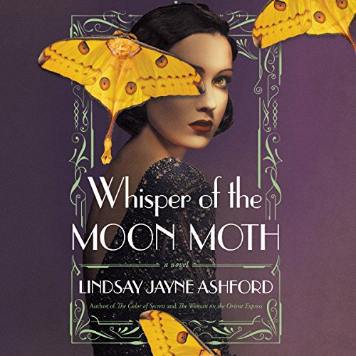 Whisper of the Moon Moth audiobook cover art