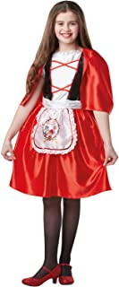 Rubie's Fairytale & Storybook Costumes For Girls - Little Red Riding Hood XL 9-10 Years (641196 9-10)