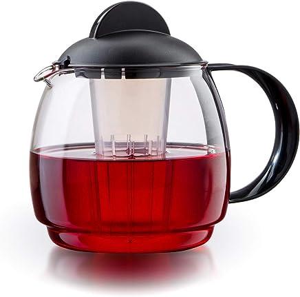 Boral Glas Teekanne Mikrowellenkanne 1,8L mit Teesieb preisvergleich bei geschirr-verleih.eu