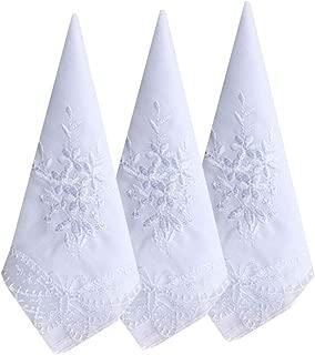 ladies wedding handkerchiefs