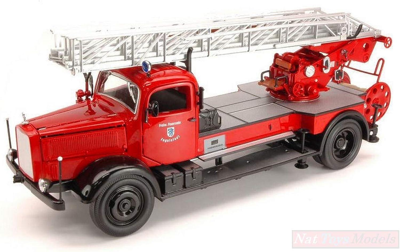 muy popular NEW Lucky Die Die Die Cast LDC20228 Mercedes L4500F 1944 Fire Truck 1 24 MODELLINO Die Cast  promociones