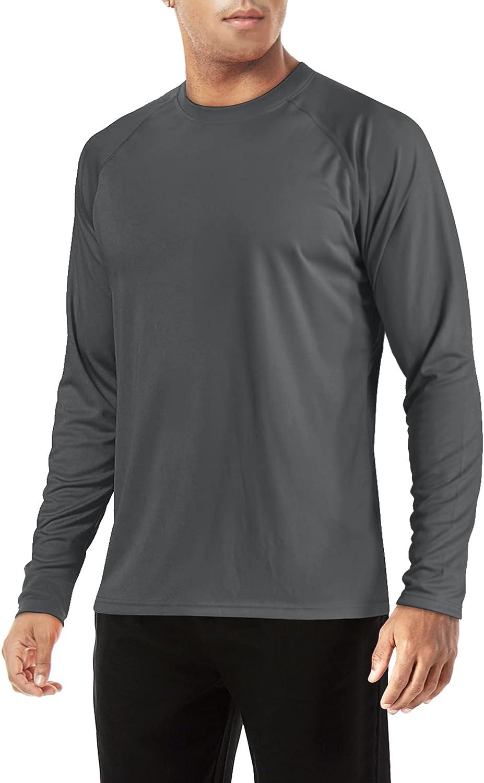 TACVASEN Men's Shirts-UPF 50+ [Alternative dealer] UV Protection Special Campaign Sun Long Sleeve Shir
