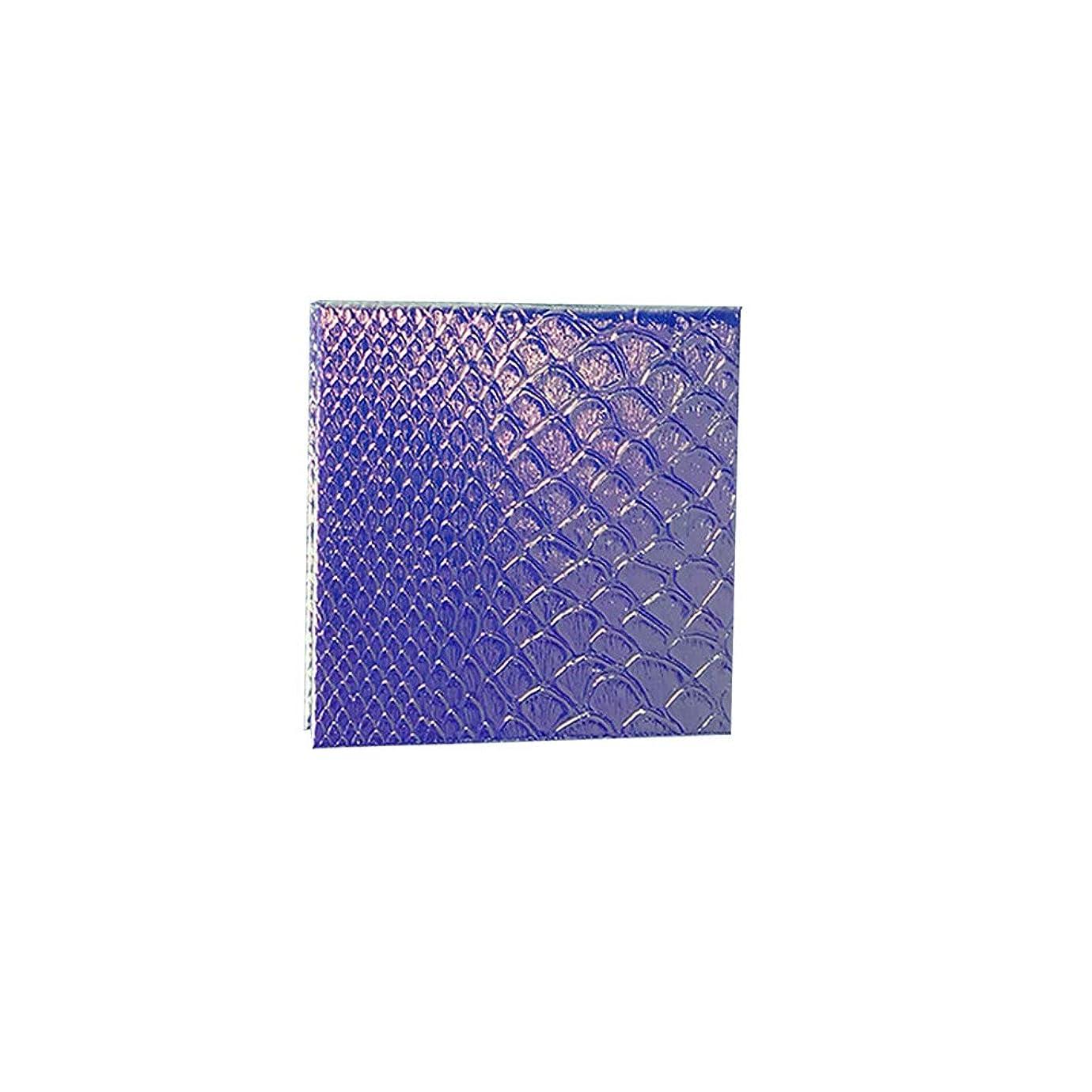 難しい広まったハント空の化粧アイシャドーパレット磁気空パレット接着剤空のパレット金属ステッカー空のパレットキット(S)