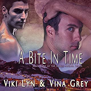 A Bite in Time audiobook cover art