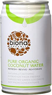 Biona Organic Pure Coconut Water, 330ml