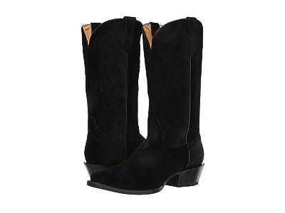 Roper Velvet Snip (Black Velvet) Cowboy Boots