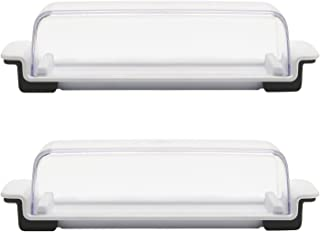 OXO Good Grips White/Clear Butter Dish, Set of 2
