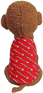 Summer dog cooling vest T-shirt pet dog cooling strap dog clothing